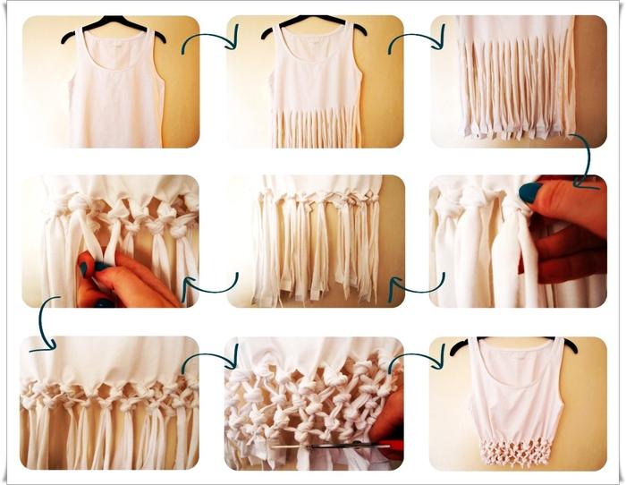 Модная одежда своими руками фото