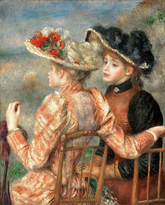 1Pierre-Auguste_Renoir__French__1841-1919_--_Two_Girls_b (563x700, 98Kb)