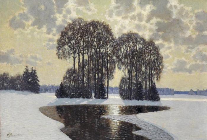 Зима, 1910 (700x474, 313Kb)