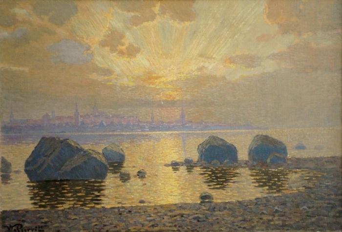 Панорама Таллинна, 1907 (700x475, 352Kb)