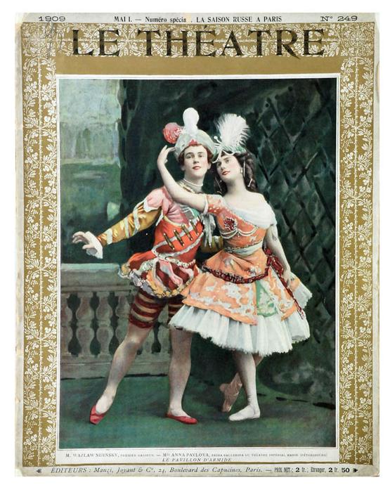 Le Theatre, Numero special La saison russe a Paris, Manzi, (555x700, 472Kb)