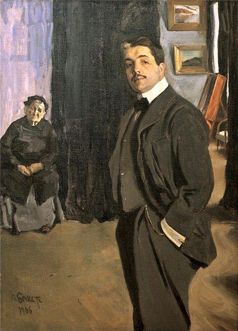 Портрет Сергея Дягилева с няней, 1906 (472x655, 269Kb)