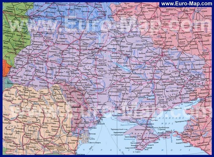 Карта Украины (700x515, 230Kb)