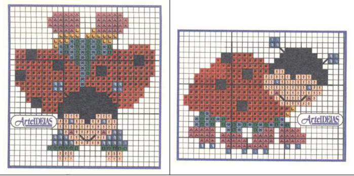 Схемы вышивки комплектов для новорожденных (14) (700x347, 360Kb)