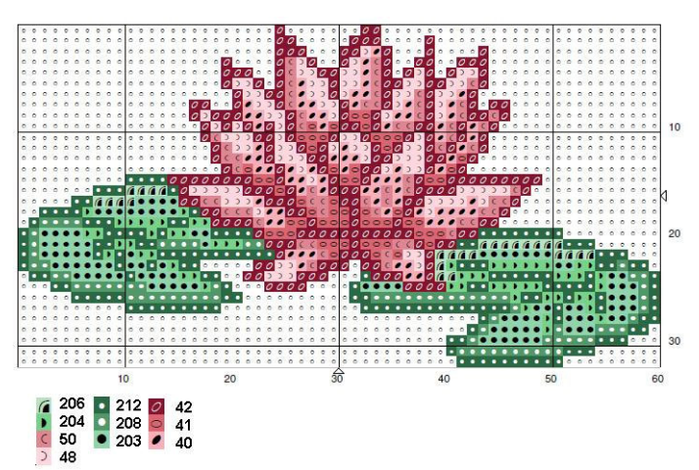 Схемы вышивки комплектов для новорожденных (20) (700x470, 483Kb)