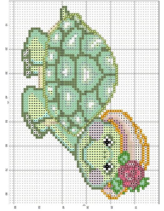 Схемы вышивки комплектов для новорожденных (22) (525x674, 669Kb)