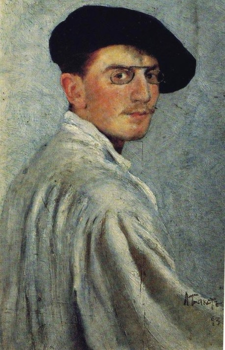 Автопортрет, 1893 год (450x700, 362Kb)