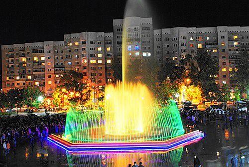 Парк атракционов возле ОКЦ