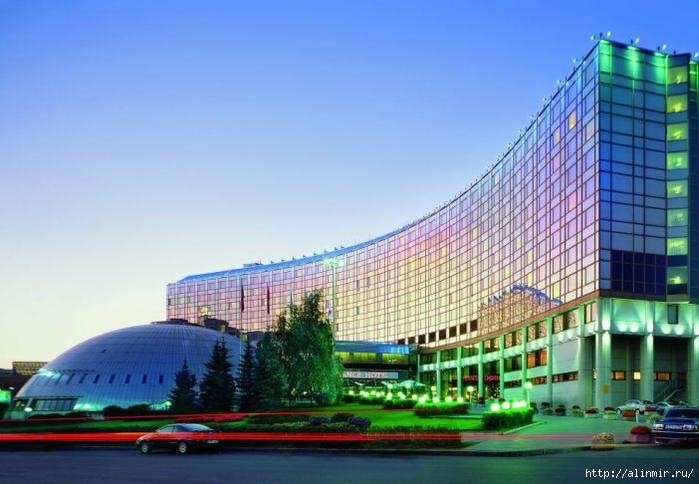 РњРѕСЃРєРІР° Moscow Olympic Hotel (700x484, 220Kb)