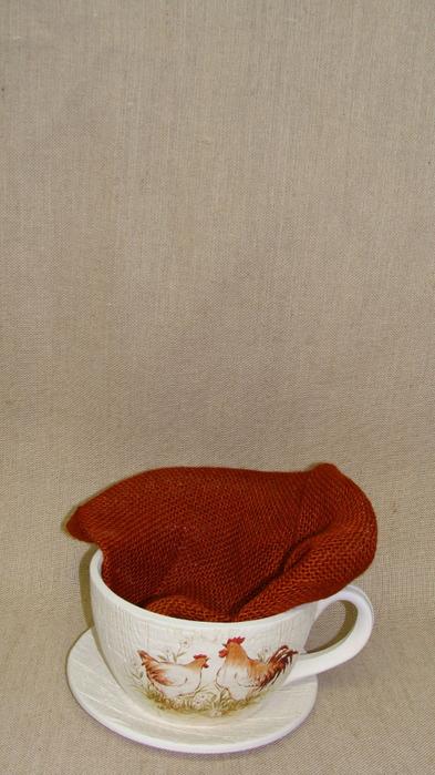 Кролик в чашке. Идеи пасхальных композиций (9) (393x700, 324Kb)