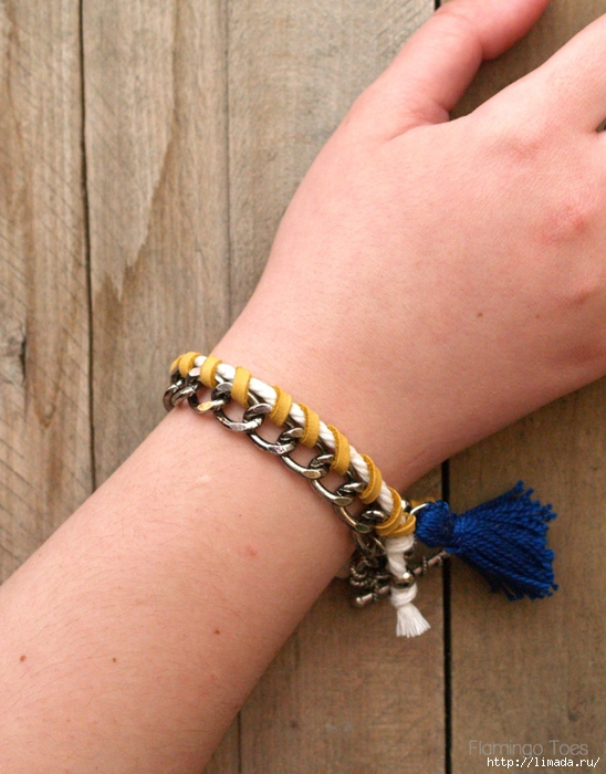 Anthropologie-Knockoff-Chain-Bracelet-705x900 (548x700, 288Kb)