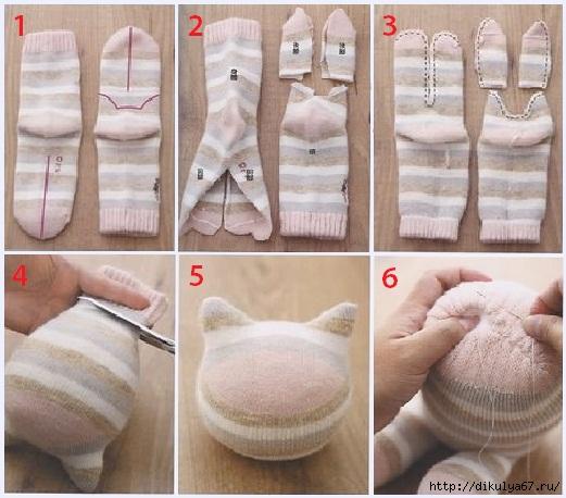 Как сделать игрушки своими руками пошаговое фото