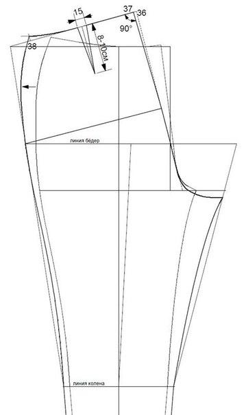 Шьем узкие Скинни5 (359x604, 46Kb)