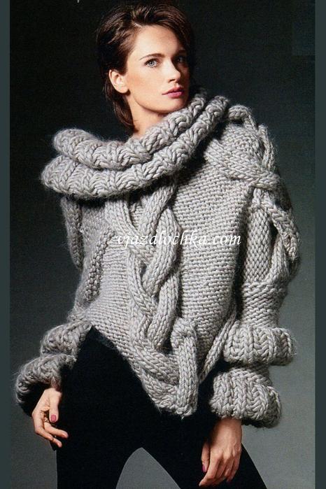 Размер свитера: единый.