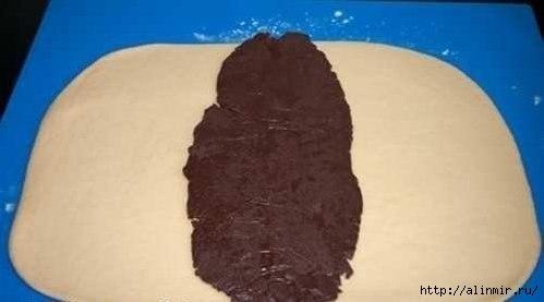 Булочки Зебра с шоколадной прослойкой8 (499x277, 49Kb)