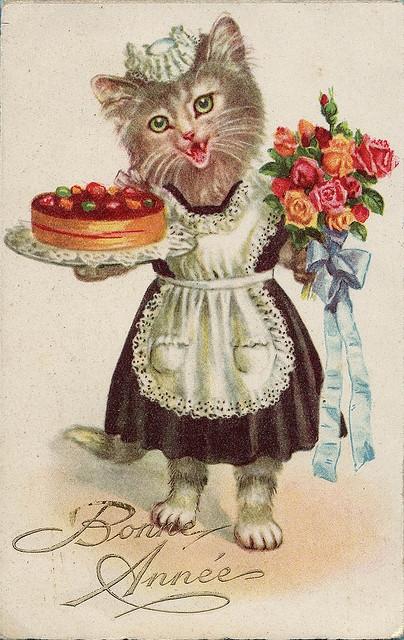Старинные винтажные открытки с днем рождения2 (404x640, 269Kb)