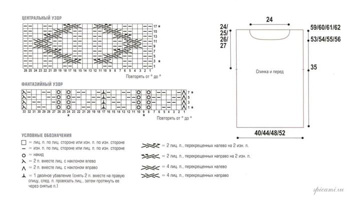 Вязание спицами. Жилеты и безрукавки (7) (700x402, 125Kb)