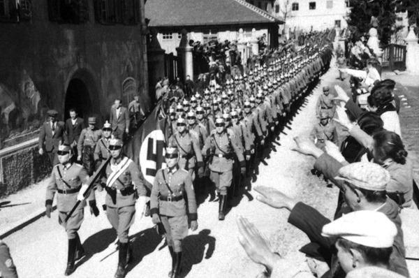 Несколько интересных фактов об аншлюсе Австрии