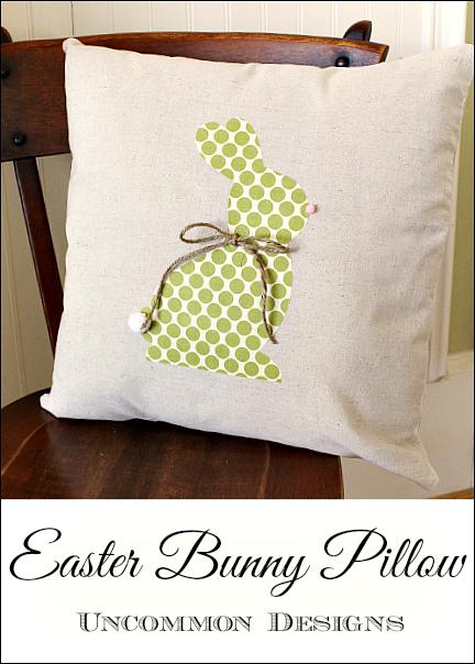 Украшение подушек и сумочки пасхальными зайцами (6) (432x604, 367Kb)