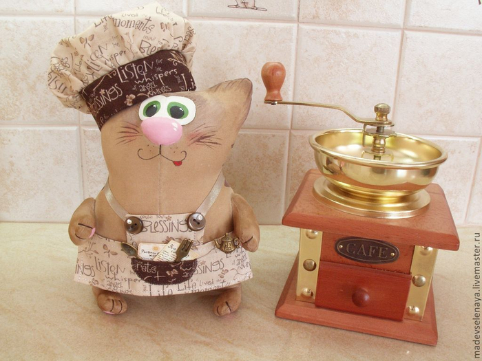 Кофейные котики Елены Мартыновой. Мастер-класс (7) (700x525, 362Kb)