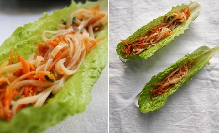 Острый жиросжигающий салат с морковью