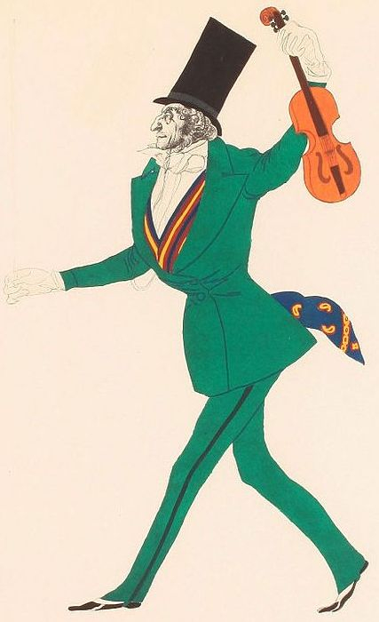 +Эскиз костюма Паганини к балету Волшебная ночь Габриэле д'Аннунцио (427x700, 161Kb)