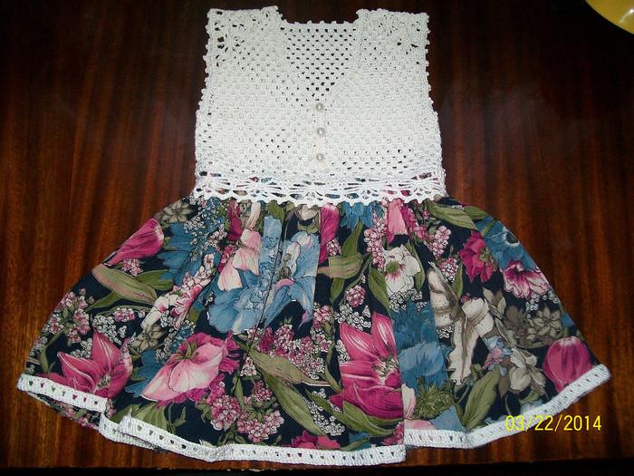 钩针:小小时尚达人的连衣裙(大师班) - maomao - 我随心动
