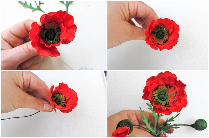 Мак цветок сделать