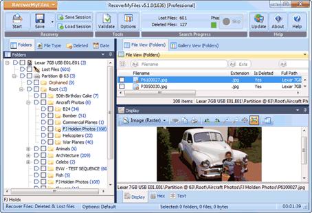 Recover My Files и другие программы для восстановления удаленных файлов