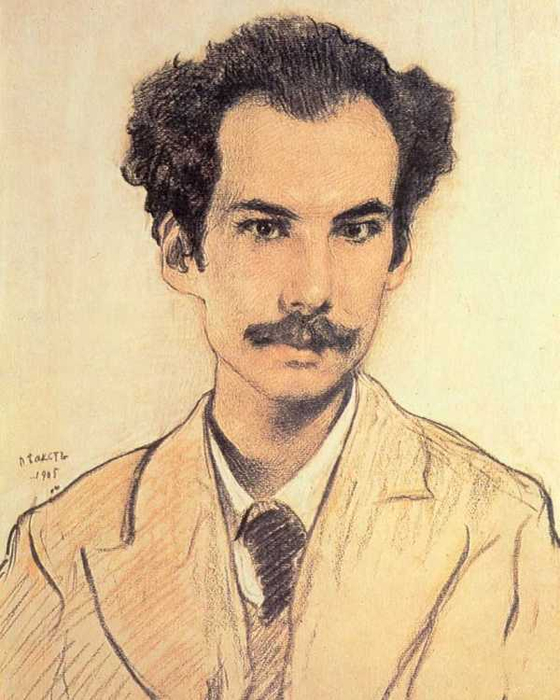 Портрет Андрея Белого, 1905 (560x700, 334Kb)