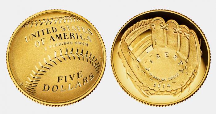 бейсбольная монета сша (700x369, 249Kb)