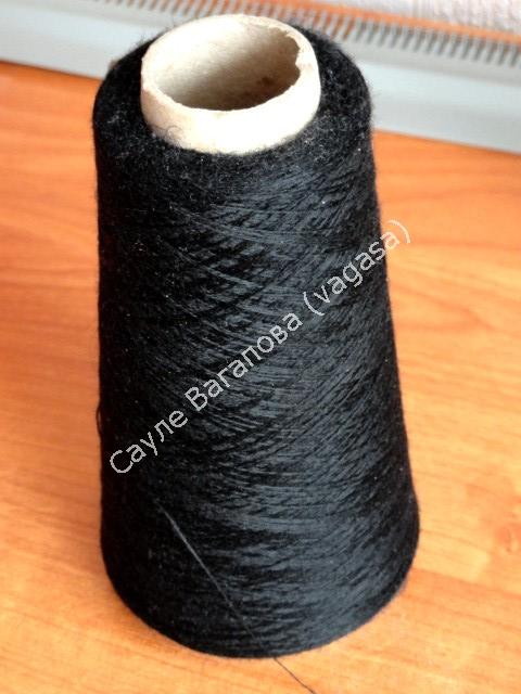 """针织:围巾""""神秘之夜"""" - maomao - 我随心动"""