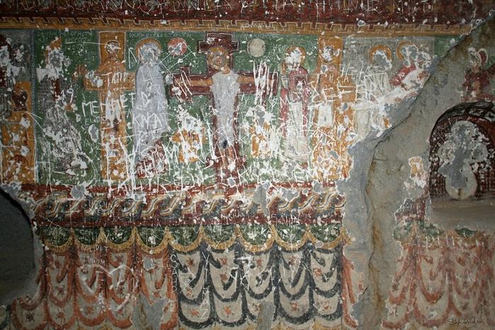 12 Кокар Kokar Kilise  Пахнущая Церковь Ихлара Каппадокия Шкондин (16) (700x466, 447Kb)