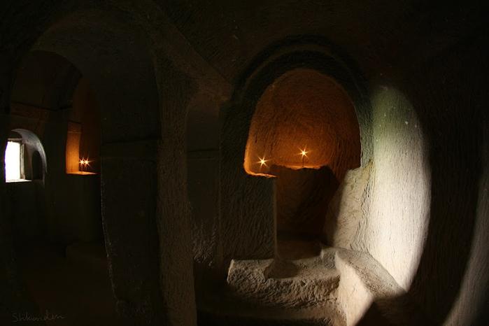 16 Кокар Kokar Kilise  Пахнущая Церковь Ихлара Каппадокия Шкондин (11) (700x466, 222Kb)