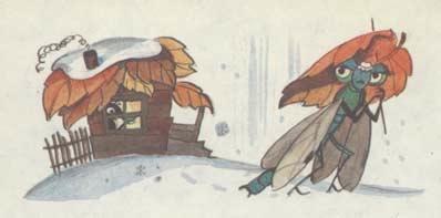 Рисунки на тему и.а.крылова листы и корни