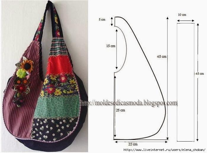 Текстильная сумка своими руками выкройки