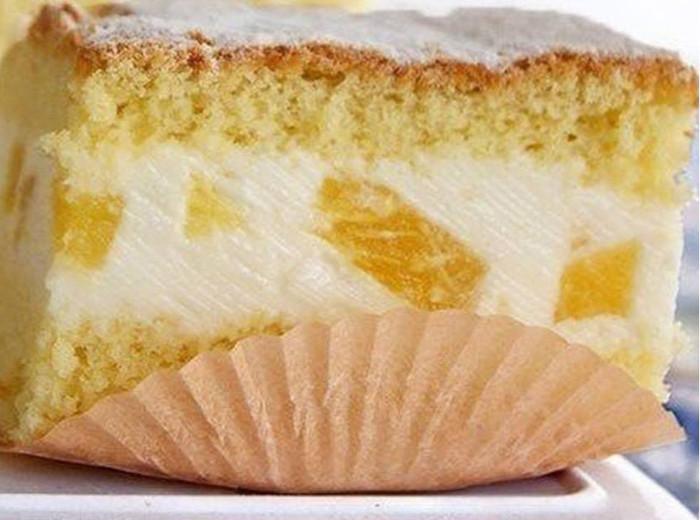 Торт бисквитный с творожной начинкой рецепты