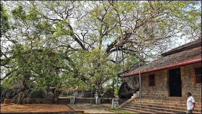 Древний храм в Ятагале. Шрои-Ланка