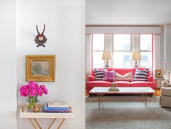 розовый цвет и интерьер 10 (600x454, 185Kb)