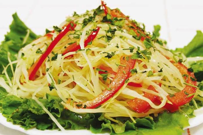 Салат из свежей капусты с морковью - Всё для леди