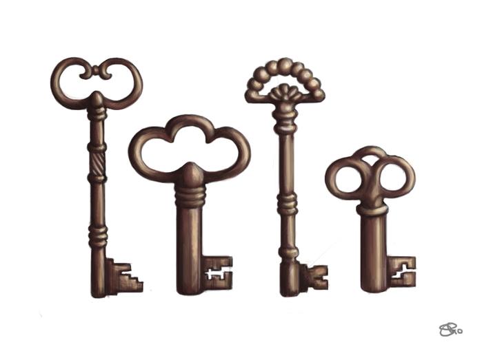 Antique_Keys_by_Samosaur (700x507, 108Kb)