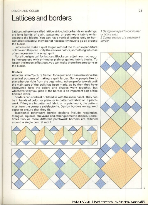 Beautiful Patchwork & Quilting Book 023 (504x700, 285Kb)