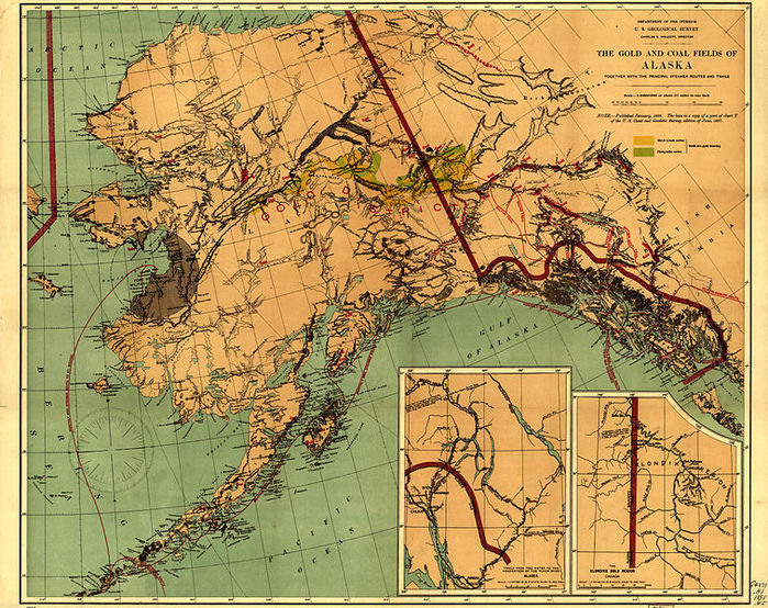 Аляска спорная территория россии и сша