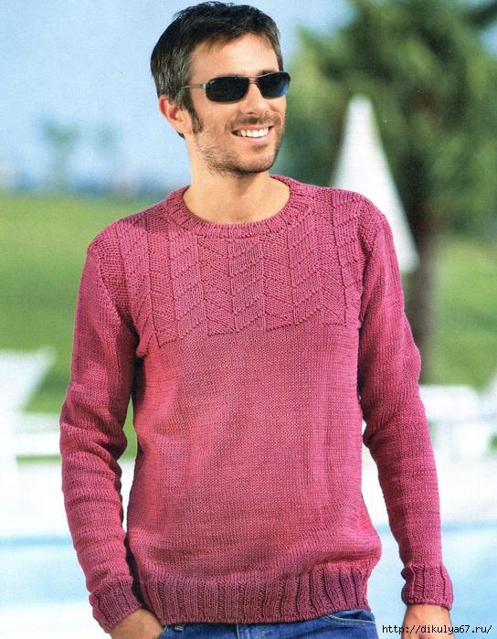 pulover-muzhskoj (544x700, 303Kb)