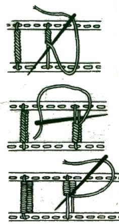 Узор для вышивки ришелье 138