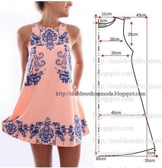 Платья выкройка смотреть онлайн