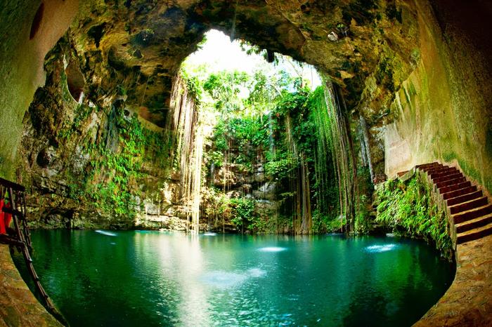 5. Мексика, полуостров Юкатан. Врата в царство мертвых (700x466, 546Kb)