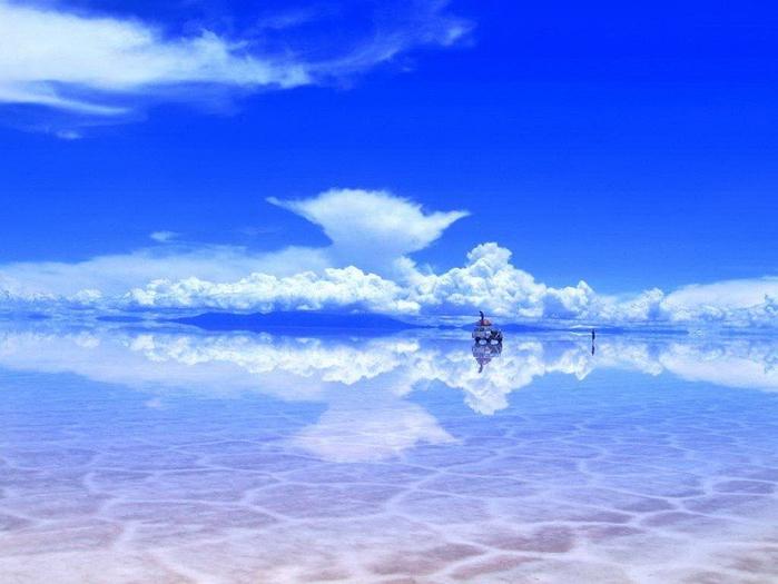 6. Боливия. Солончак Уюни (700x525, 334Kb)