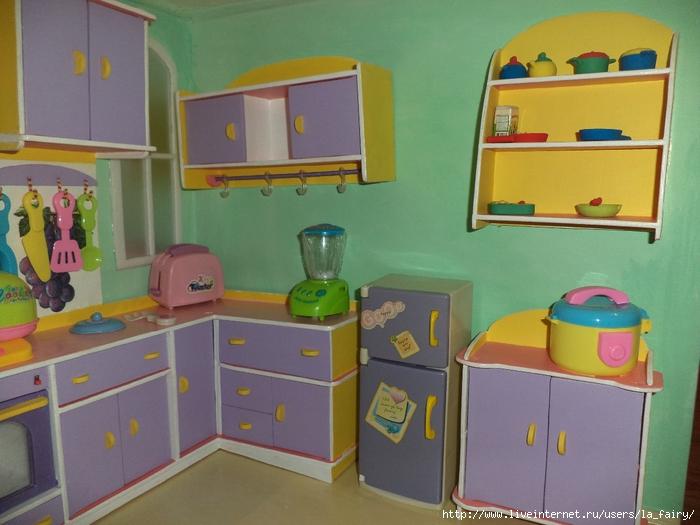 Кухня своими руками фото для кукол 692