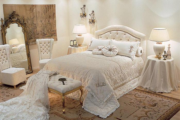 Как превратить кровать в главный элемент спальни (5) (700x468, 394Kb)